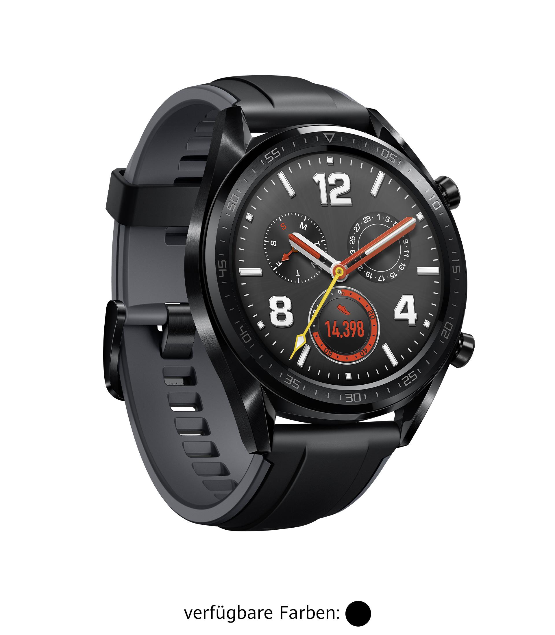 HUAWEI Watch GT in schwarz