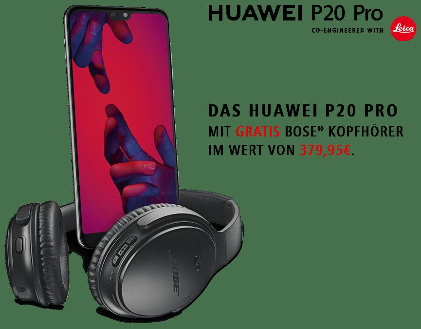 Huawei P20 Bose