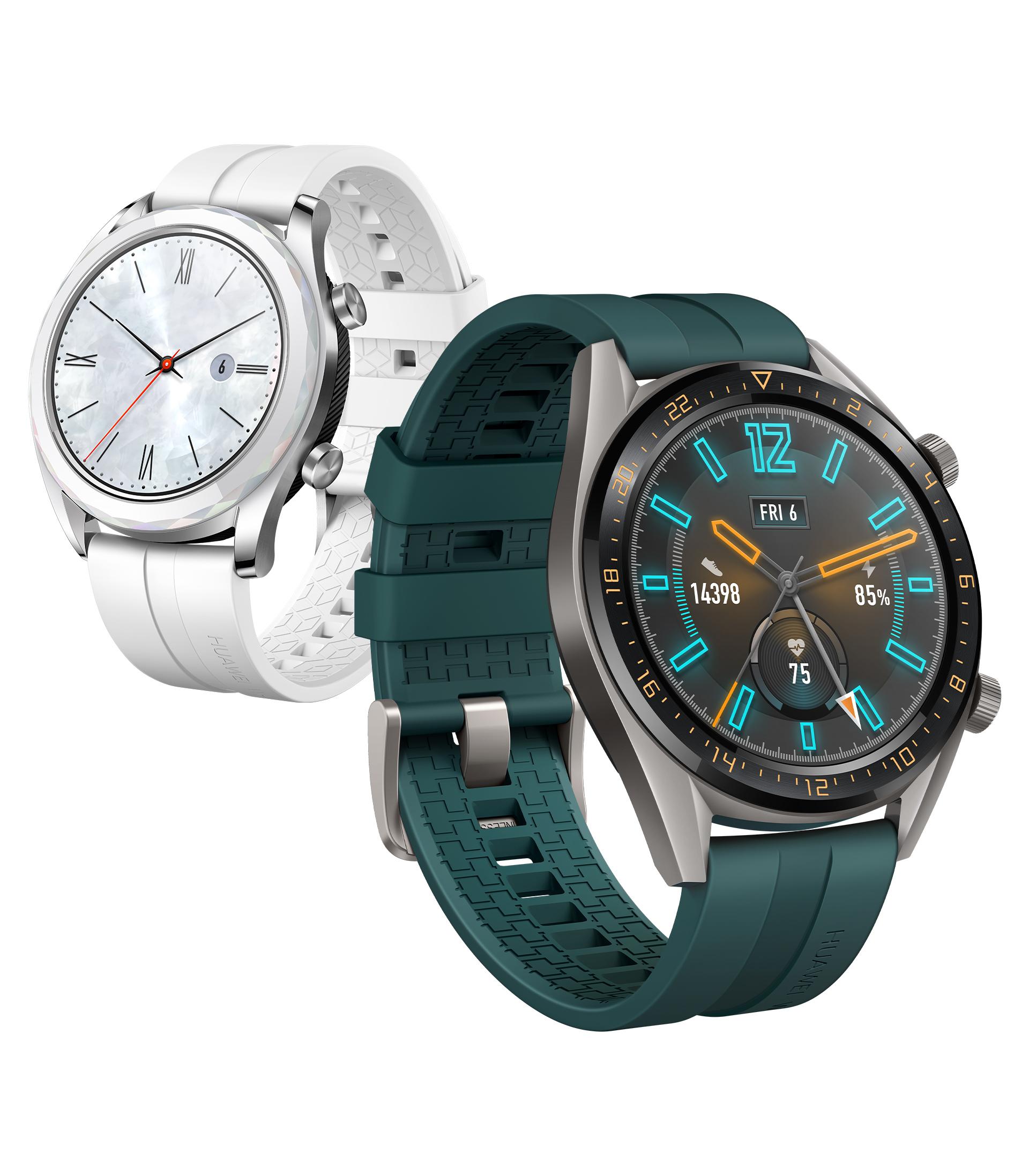 HUAWEI P30 Pro Weihnachts-Aktion mit der HUAWEI Watch GT Active (Dark Green) oder Elegant (Weiß)