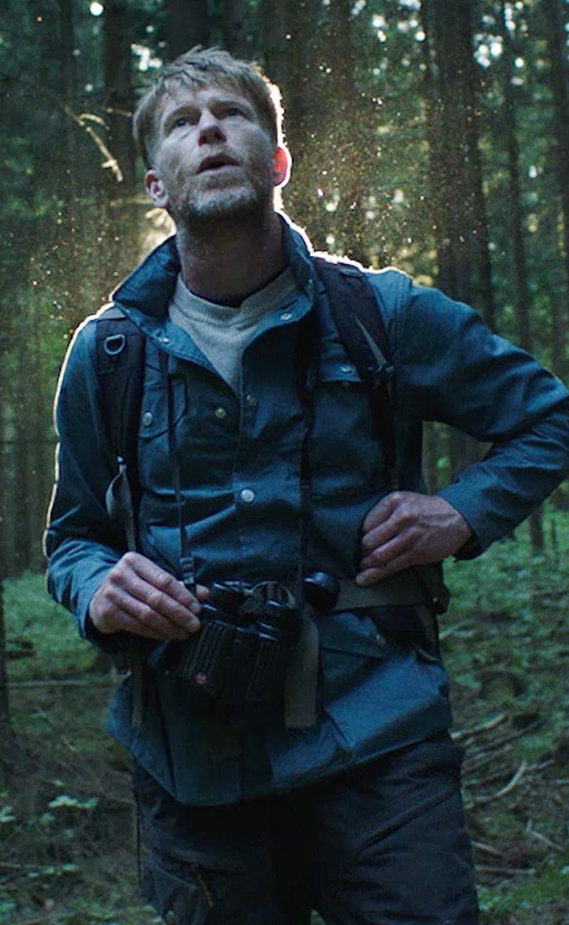 Wildlife-Fotograf David Plummer in der Nahaufnahme.