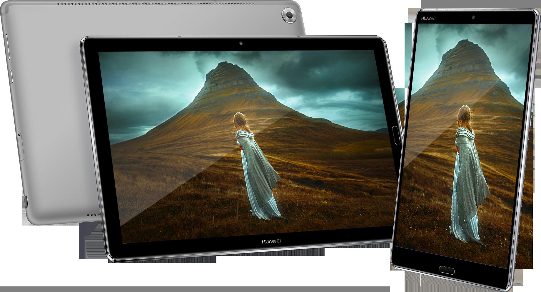 The Huawei MediaPad M5 Range
