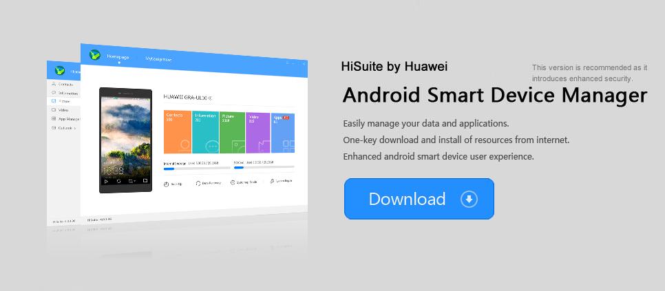 Windows 8 HiSuite full