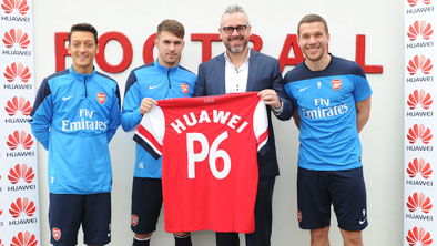 Huawei and Arsenal announce global partnership