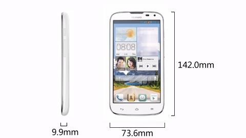 Medidas do Huawei G610 size
