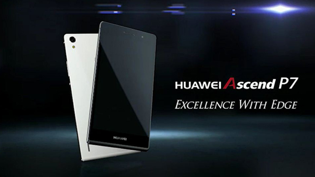 Introducimos el Huawei Ascend P7