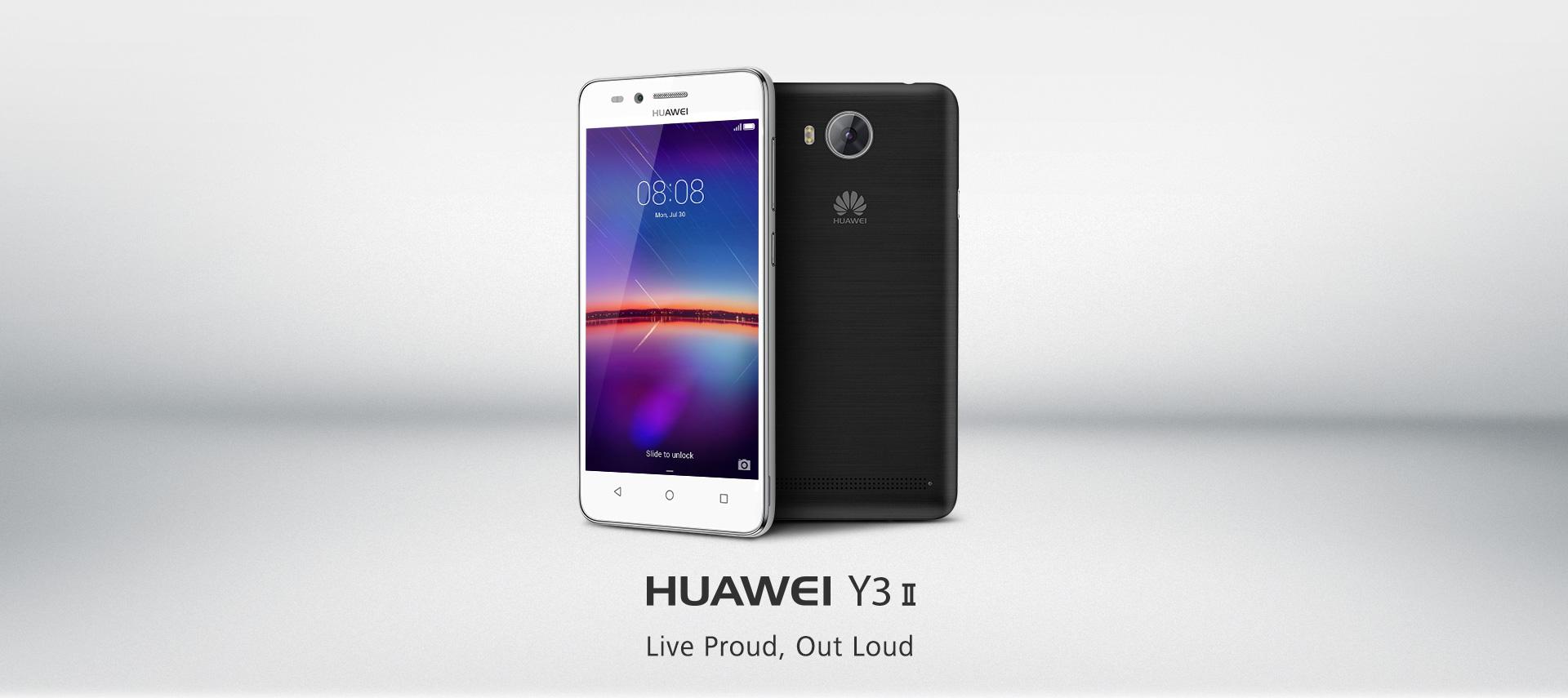 【Huawei HUAWEI Y3II Features 】
