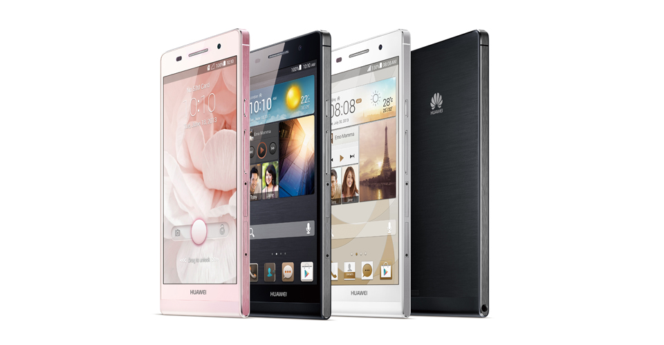 Huawei Ascend P6,Smartphone,Huawei Mobile