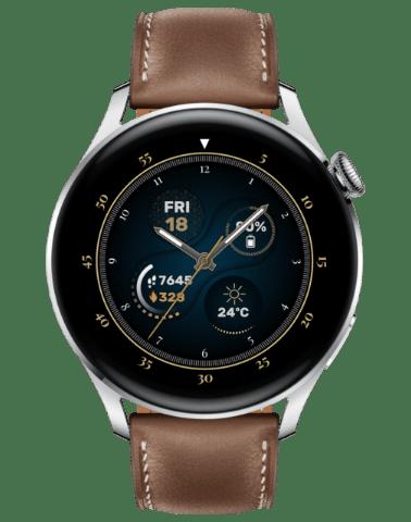 Huawei Watch 3 Classic Brown