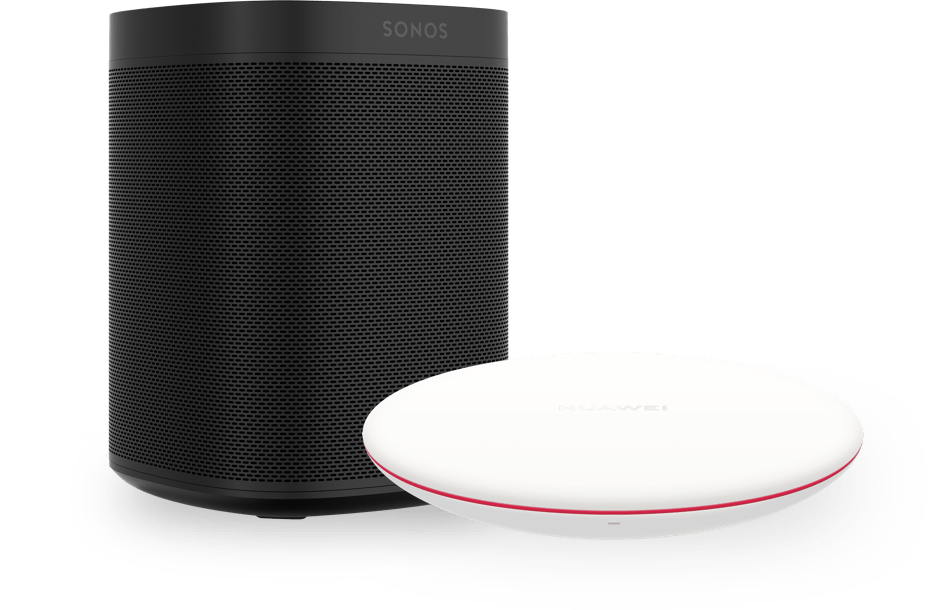 Sonos One & Wireless Charger